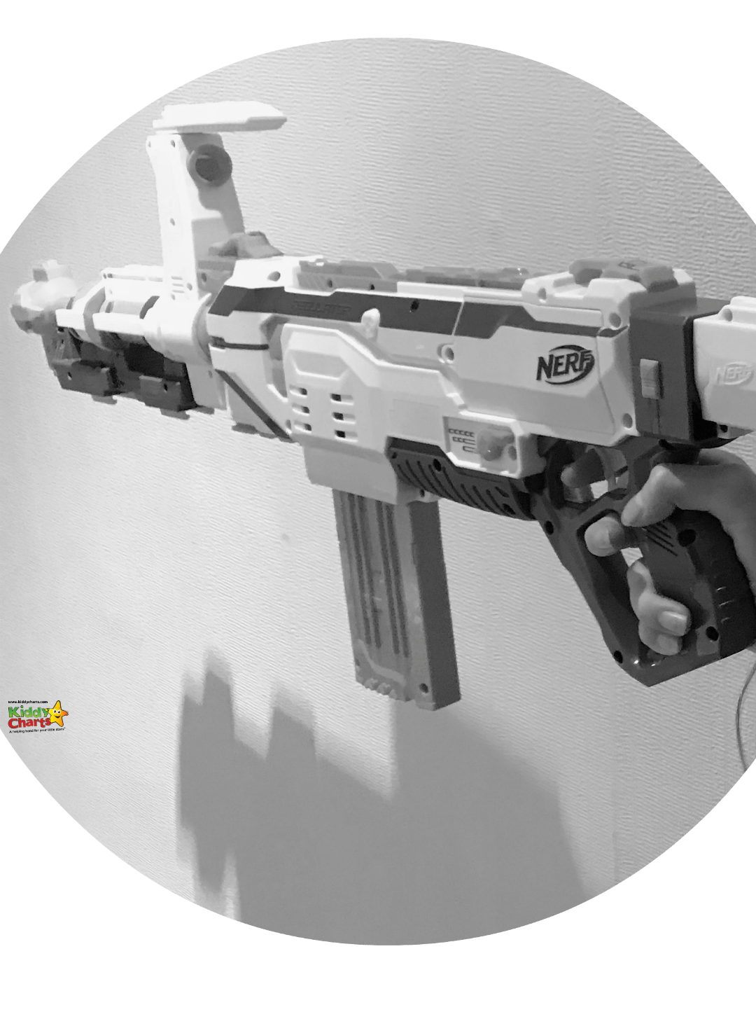 We loved having a play with our Nerf Gun even though we haven't really had too much to do with them previously - this was a great way to really get stuck into target practise with.