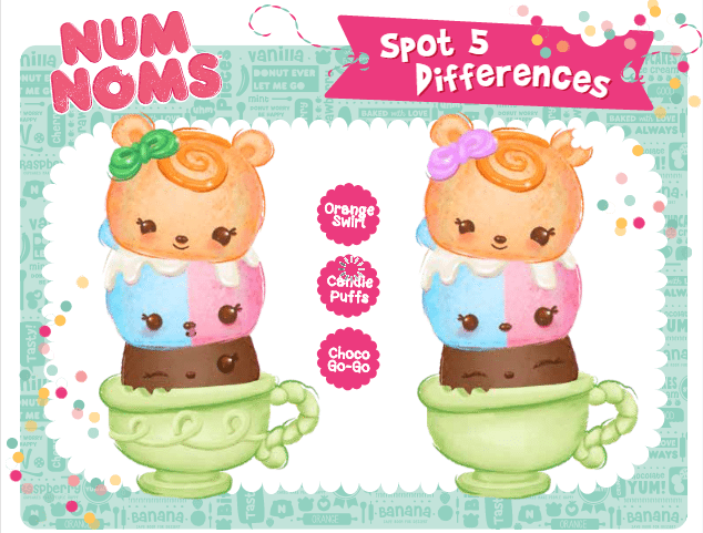 Do your children like Spot the Difference? These Num Noms activity sheets are great for keeping the kids busy. Download them now. Three more of them on the blog.
