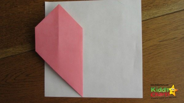 Origami Valentine: Half-hearted