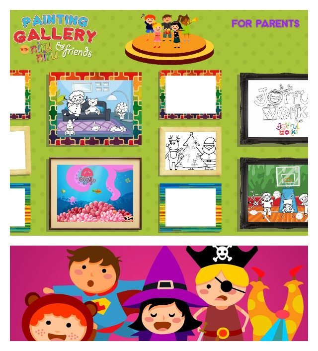 So what is the new Joyful Works app Painting Gallery like for the kids? We take it for a test drive and find out!