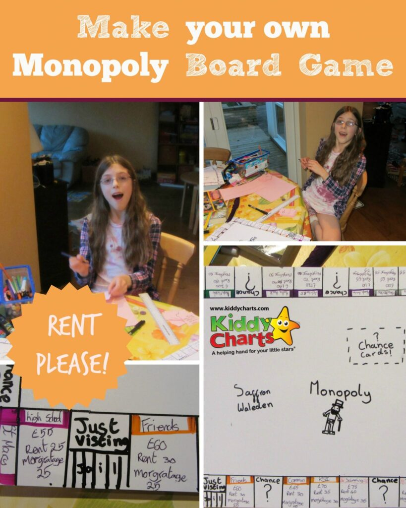 Do you love playing board games with the kids? We do to - so why not make your favourite Monopoly game and pick local landmarks, and places from your town or village? We did and it was amazing!