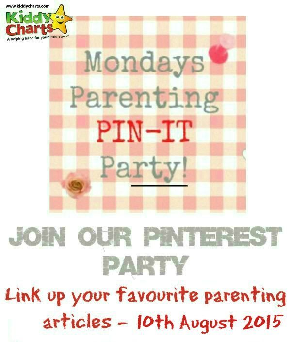 Come and join in with this week's party and share your favourite parenting post