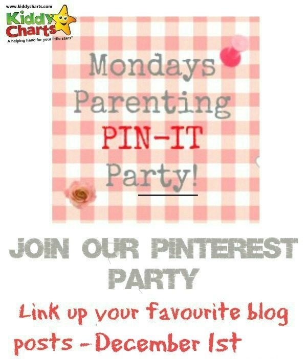 Do you need some parenting advice or ideas for craft? Pop along to our Parenting Pinterest Party and check out these blog posts. If you are a blogger, come join us too :-D