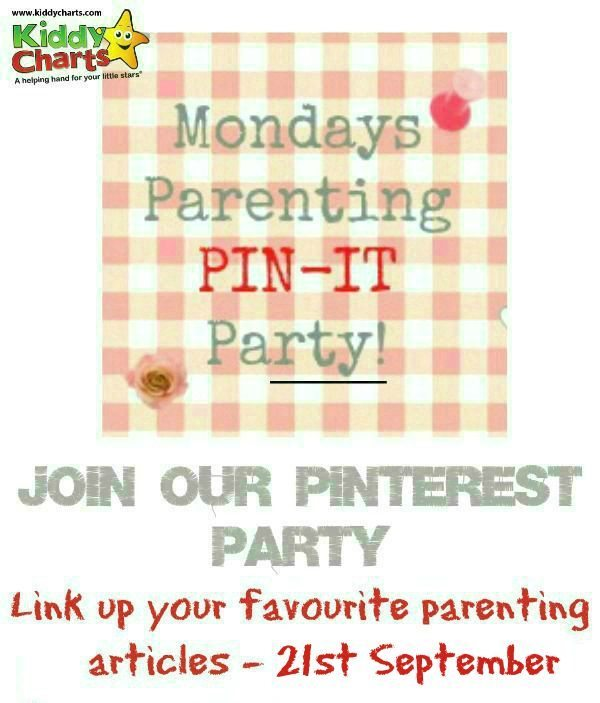 Join in with this week's parenting pin it party, ably hosted by moi!