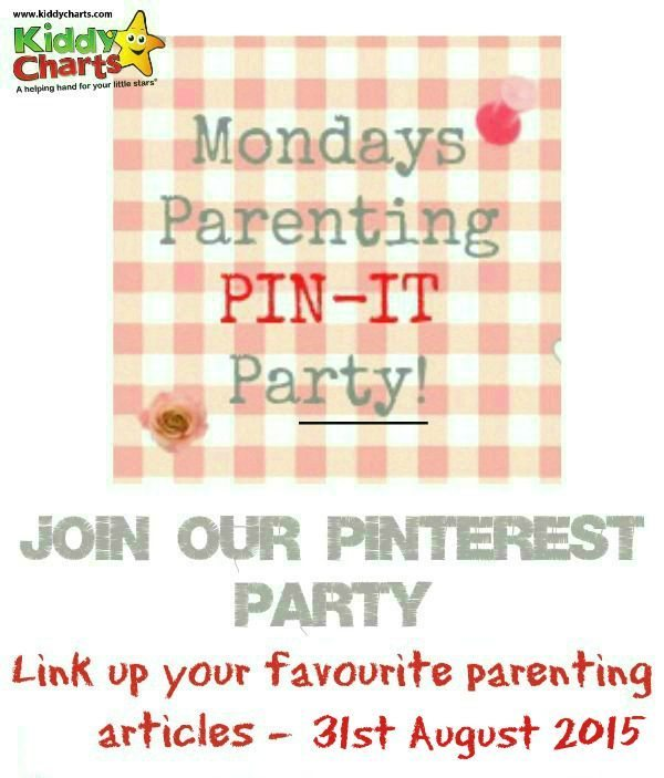 Shar e your favourite parenting post in this week's pin it party