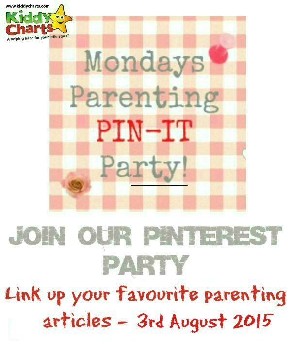Come and share your parenting posts on this week's parenting pin it party