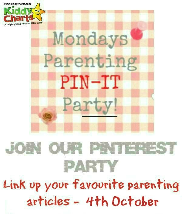 Come along and join in with this week's Parenting Pin It Party