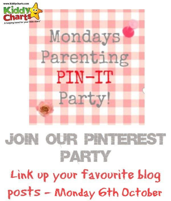 Come join our Parenting Pin it Party and find great advice, crafts and fun!
