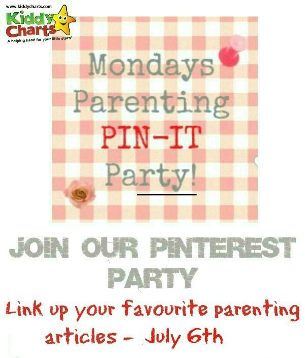 Add your favourite parenting posts to this week's linky