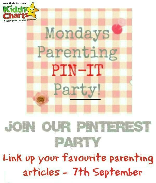 New season, new start so join in with this week's parenting pin it party