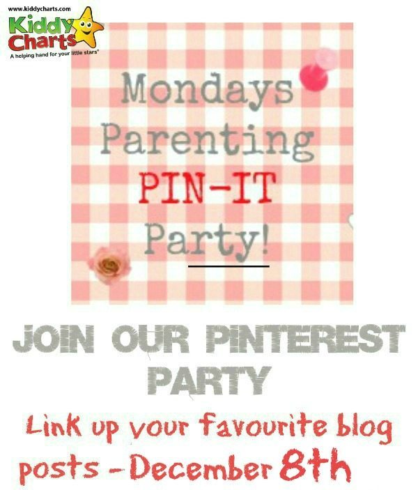 We have another parenting pin it party for you - so come share your blogging triumphs in parenting, or if you are a parent, find some inspiration for the week!