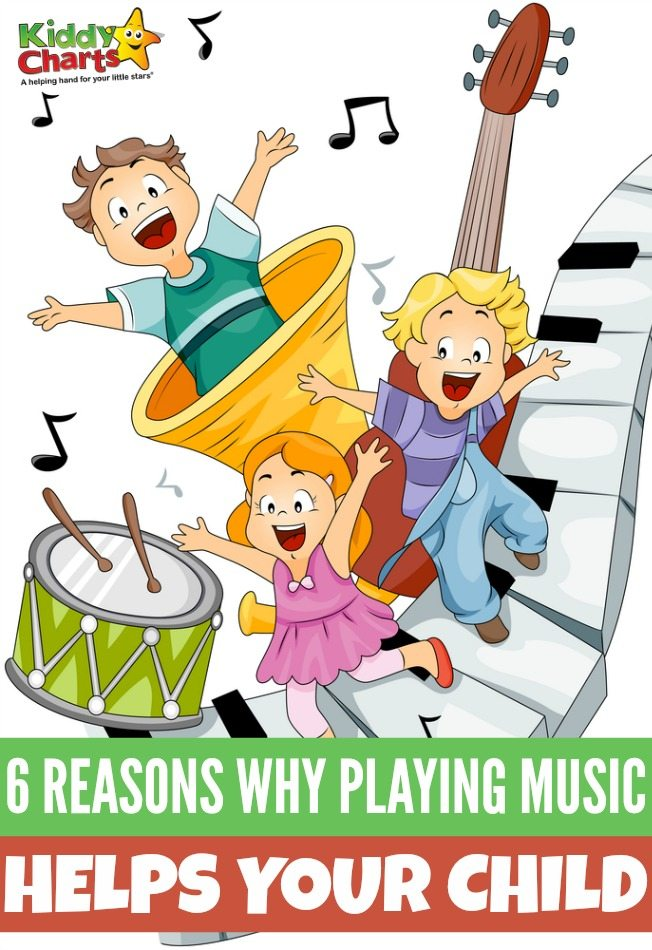 Chidren with Musical Instruments with Clipping Path