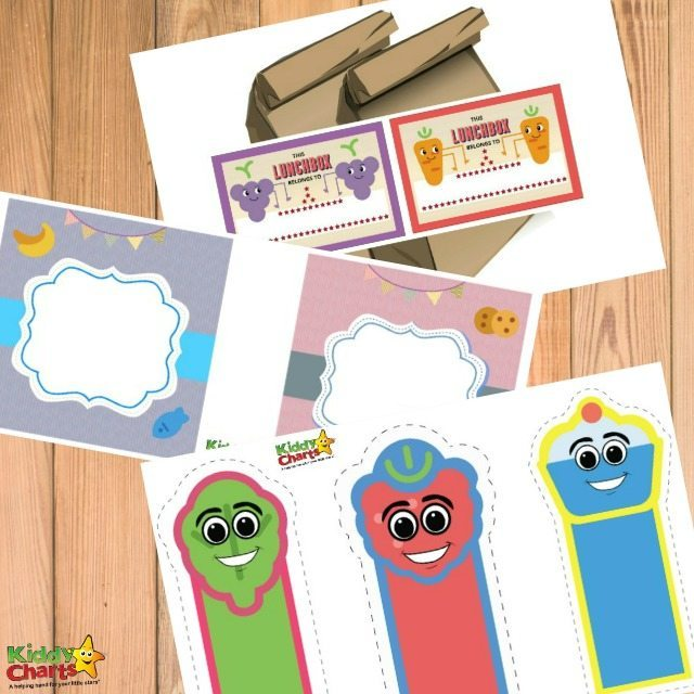 Printable Lunch Box Note
