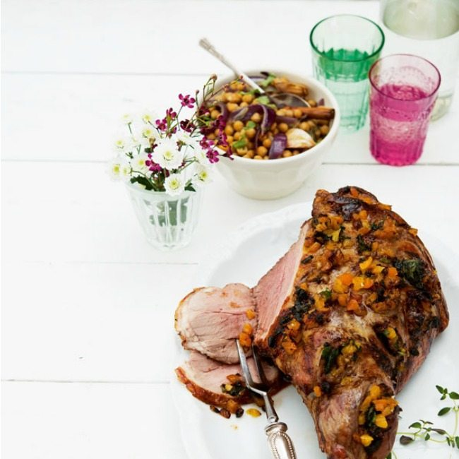 Recipe for the whole family Leg of lamb