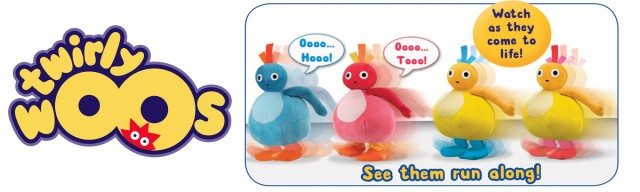 Look at these gorgeous runalong Twirlywoos - get the on Amazon for only £19.99