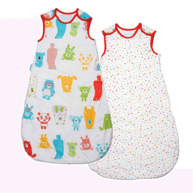 Why don't you enter our competition to win a Spotty Bear Wash and Wear Grobag twin pack - perfect for little people to stay warm. Closes 23rd March