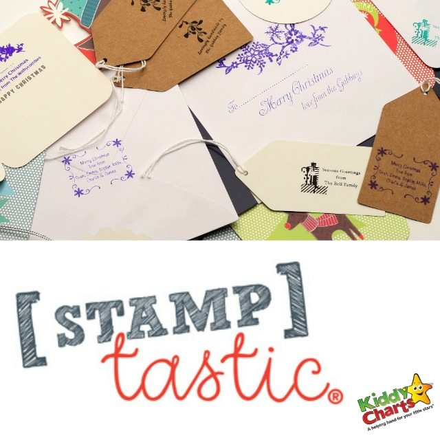 Stamptastic Christmas labelling bundle to get Christmas sorted