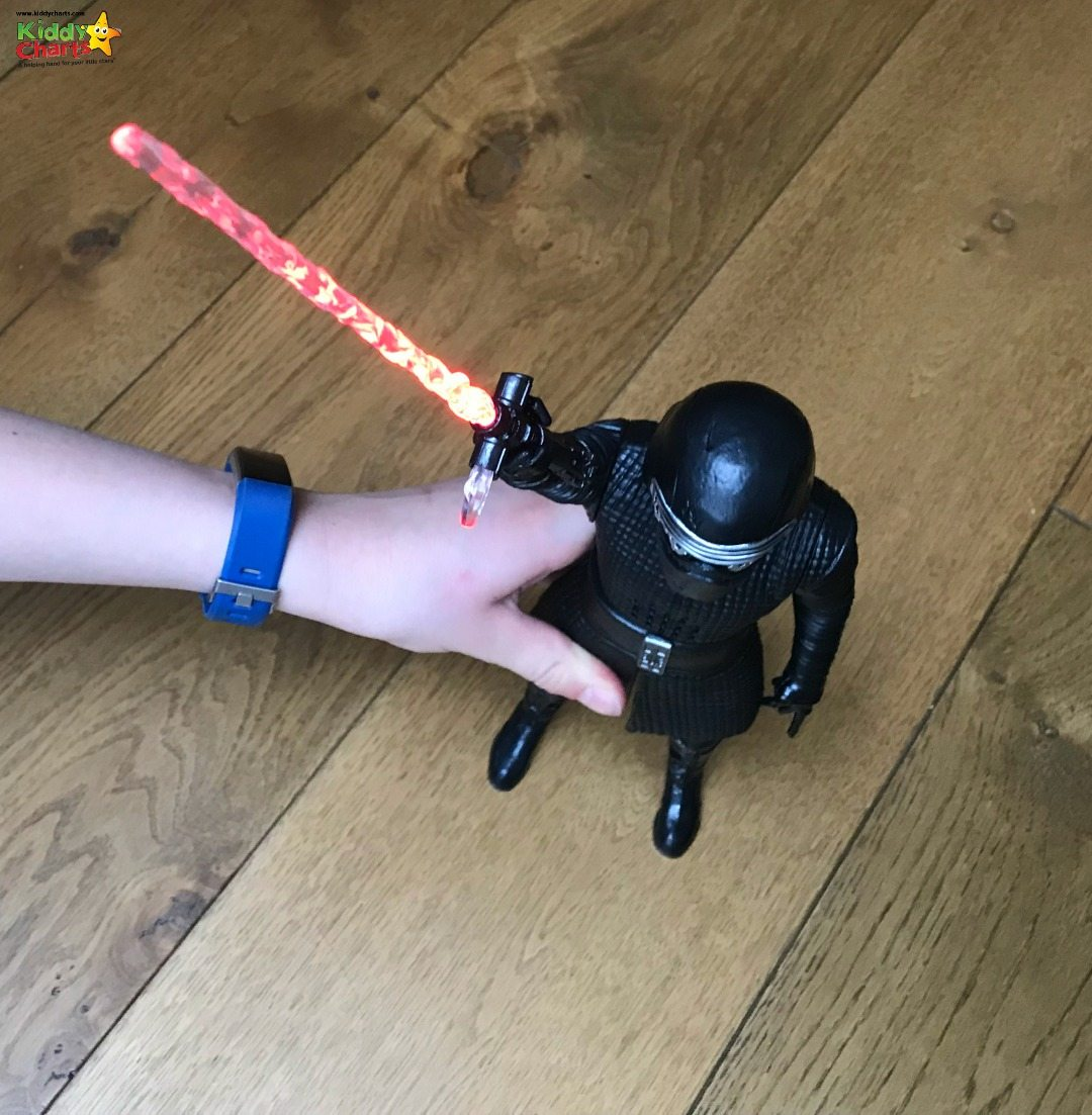 Kylo Ren is one of my son's favourite toys within the Star Wars Last Jedi Toys; look at his amazing lightsaber?!?!