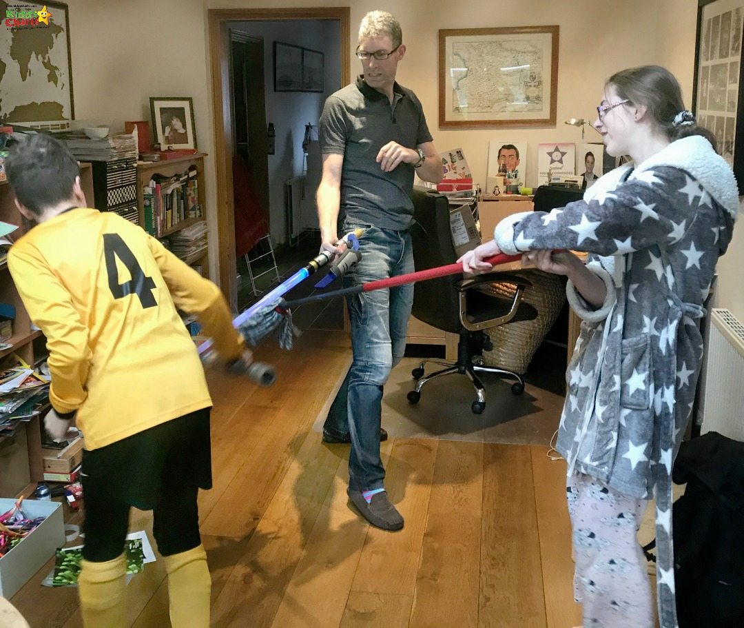 The Star Wors Last Jedi Toys seem to have caused Chaos in our house!?!? In a fun way of course....