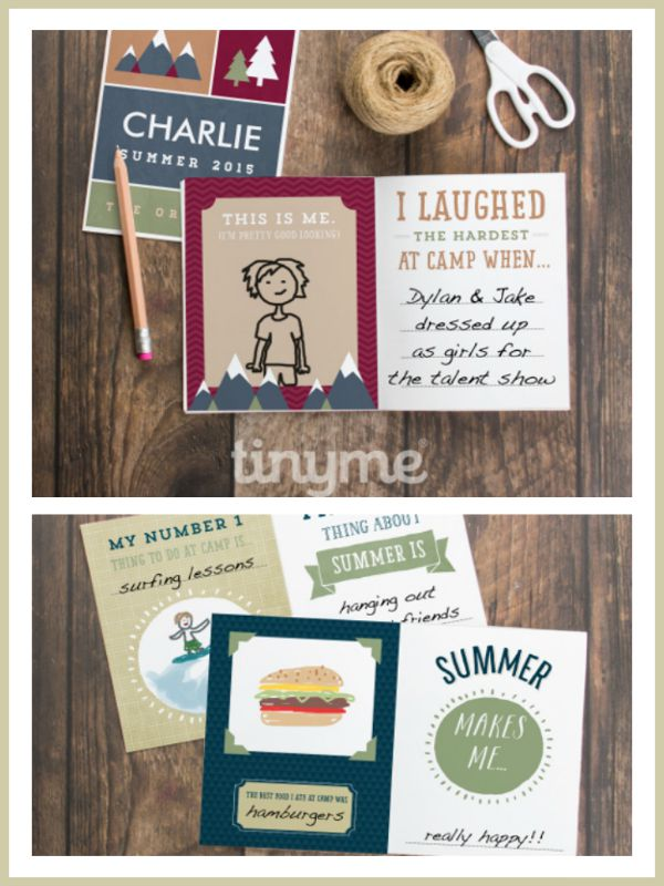 Download these summer book printables to give your kids something to think about during their holiday