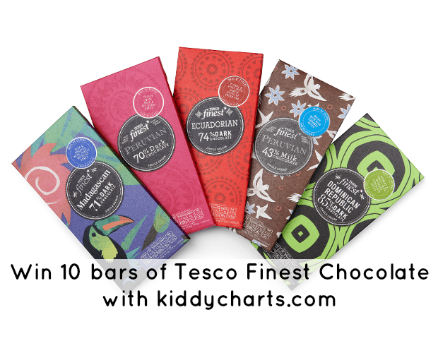 Tesco Finest Chocolate: Header