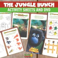 Jungle Bunch Activity Sheets