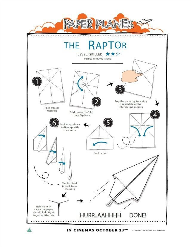 How To Make A Paper Flying Dinosaur