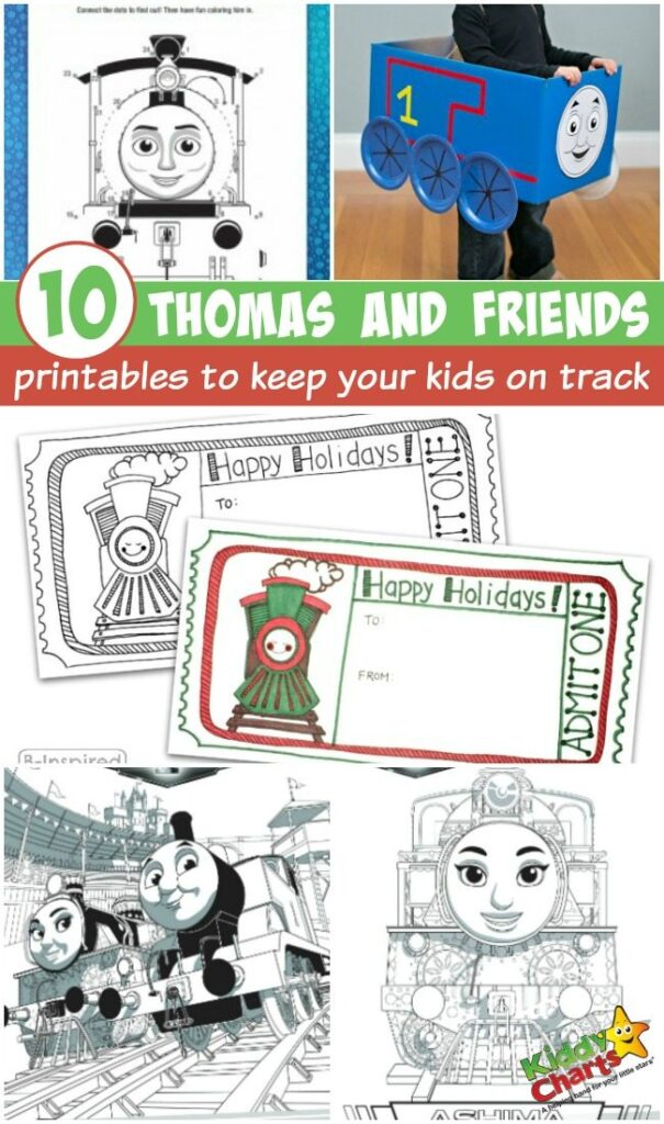 Thomas and Friends printables to keep your kids on track