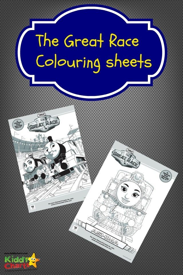 Celebrate the new Thomas & Friends movie! Colour in these fantastic colouring sheets today!