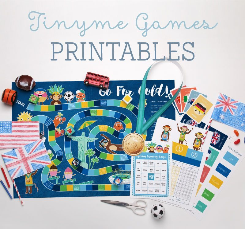 Fabulous free Olympics printables so you can join in the fun