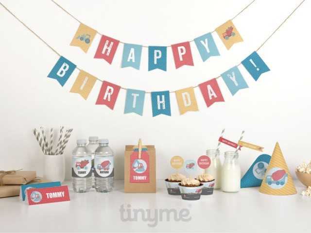 There are so many great construction birthday party printables to choose from - which ones do you want?