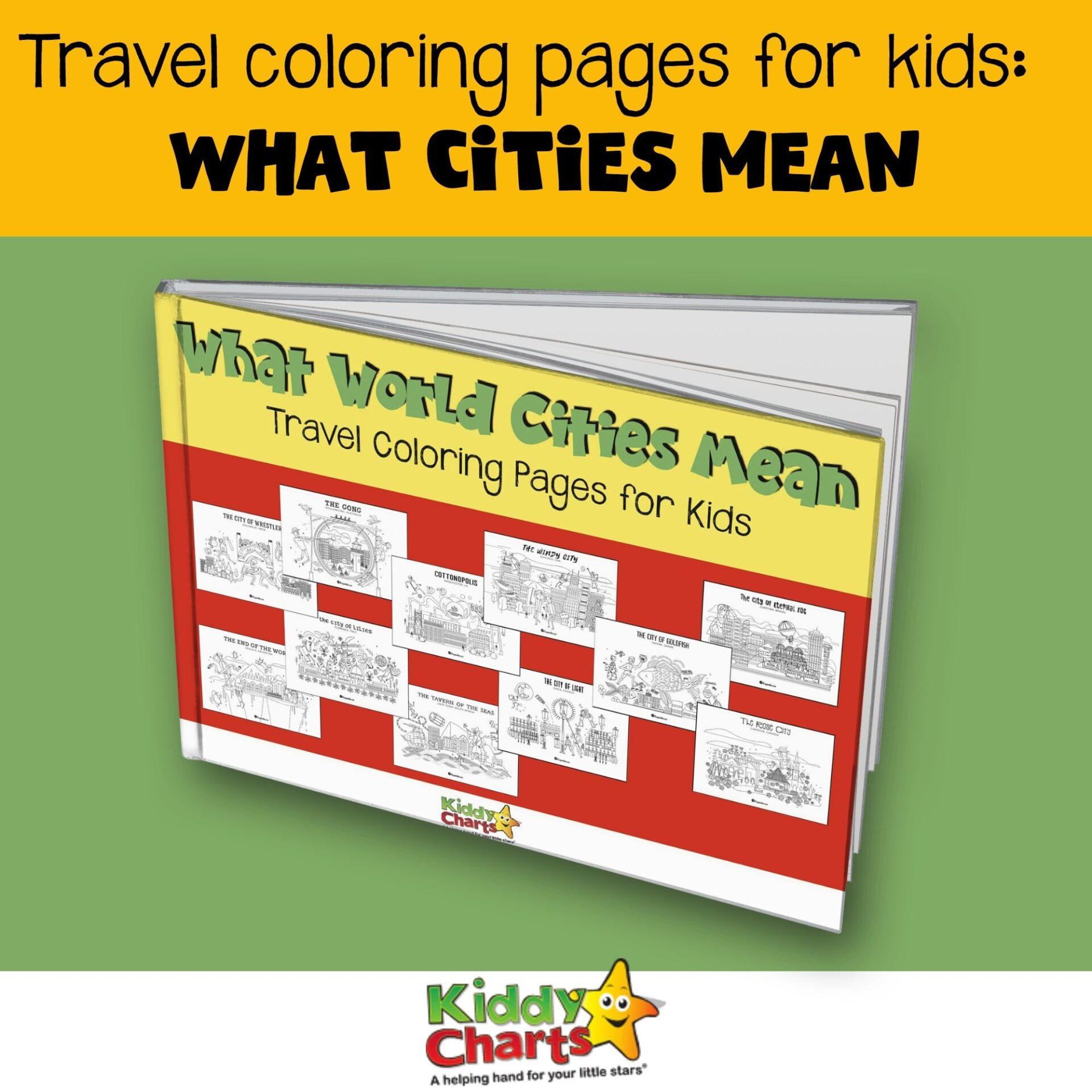 I would like to share Travel Coloring Pages for Kids that hopefully will help people to gain knowledge about places around the world.