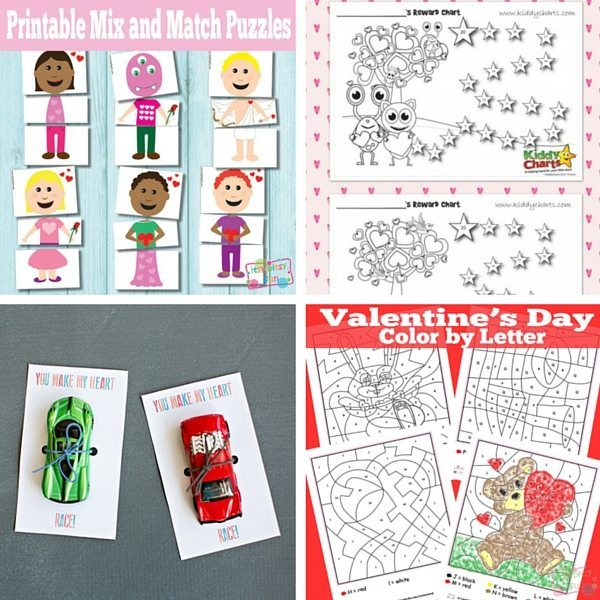 Valentine Printables for kids