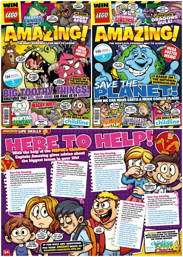 WIN a years' subscription to AMAZING! Children's Magazine!