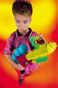 Water Guns: just think like an 8 year old once in a while...