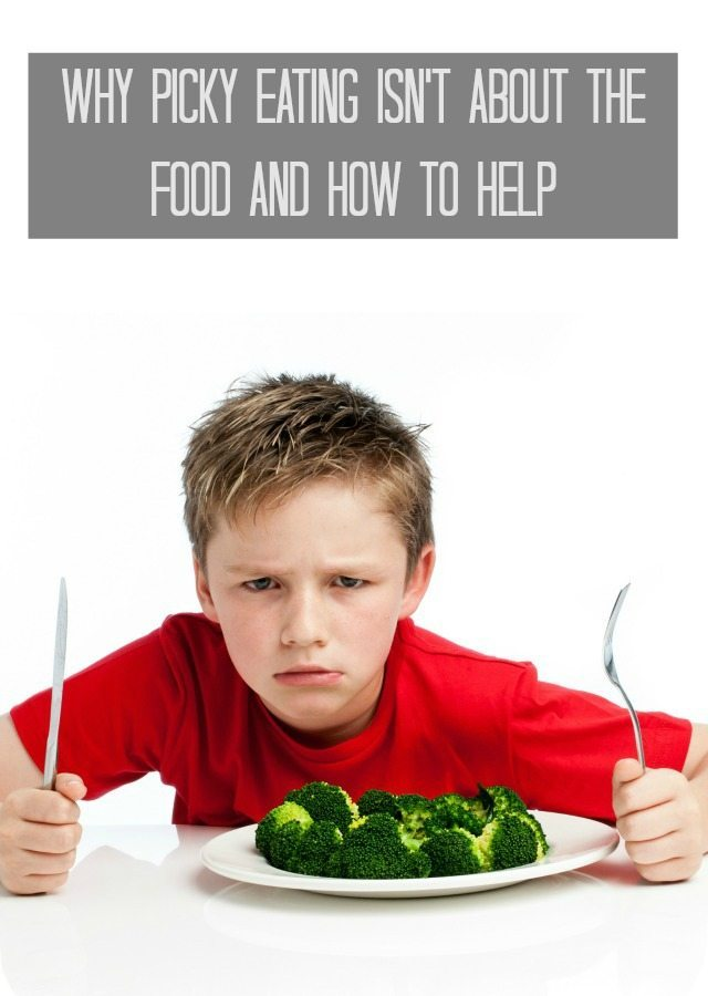 Why Picky Eating isn't About the Food and How to Help