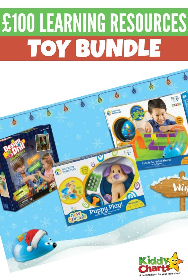 Win £100 Learning Resources toy bundle