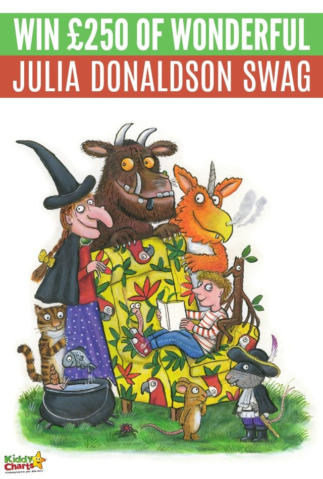 Win £250 Julia Donaldson Goodies