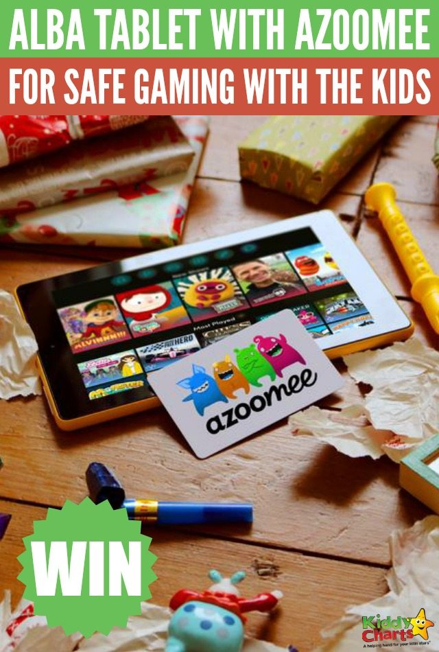 Win Alba Tablet with Azoomee for safe gaming with the kids #Giveaway
