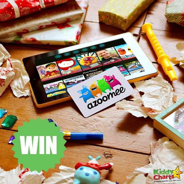 Win Alba Tablet with Azoomee for safe gaming with the kids