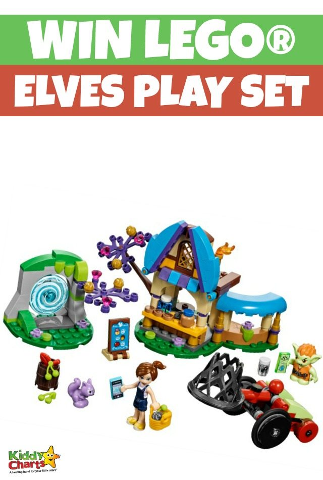Enter for a chance to Win LEGO® Elves Play Set.
