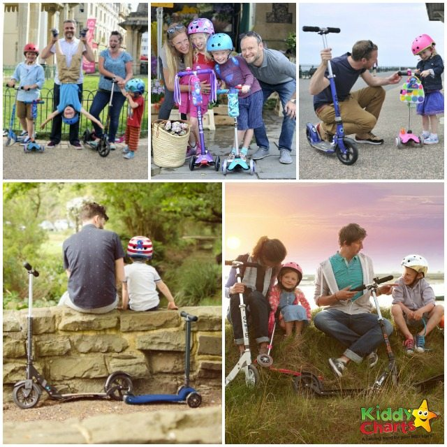 Win Microscooters for the whole family worth over £750