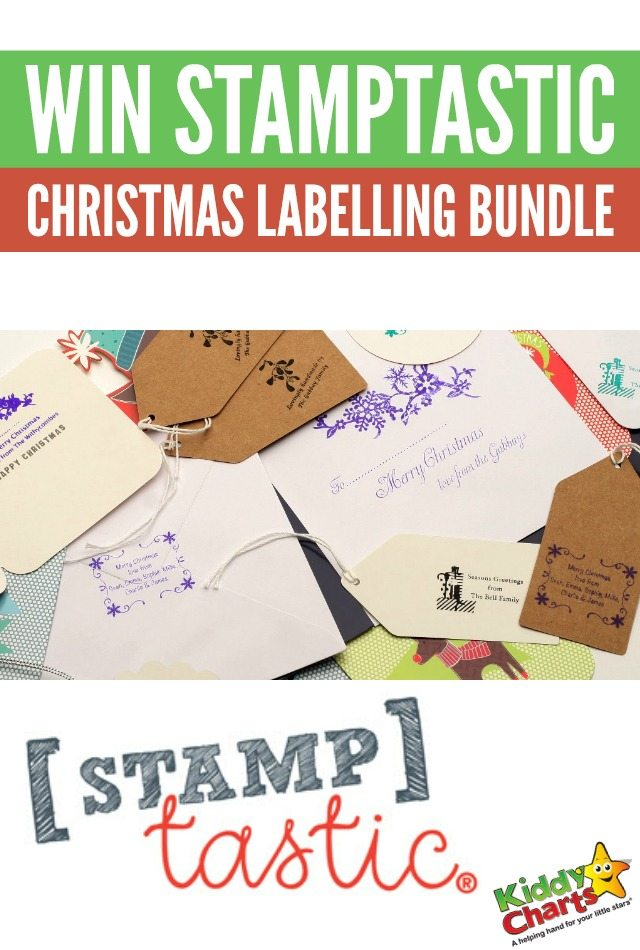 Win Stamptastic Christmas labelling bundle to get Christmas sorted