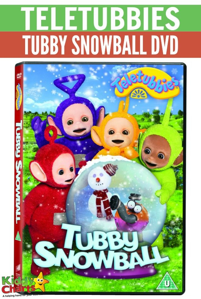 Win Teletubbies - Tubby Snowball DvD