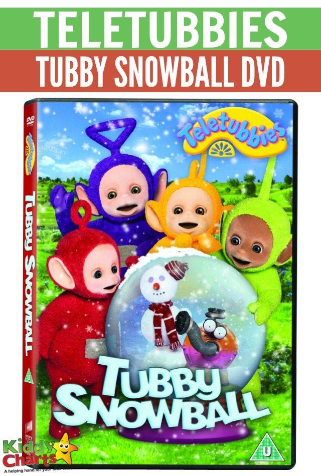 Win Teletubbies - Tubby Snowball DvD