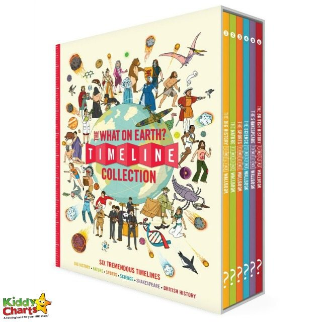 Win The What on Earth? Timeline Collection of books to educate your kids!
