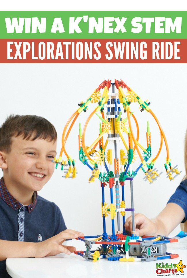 Win a K'Nex STEM Explorations Swing Ride