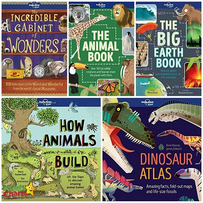 Win a bundle of awesome Lonely Planet Kids Books