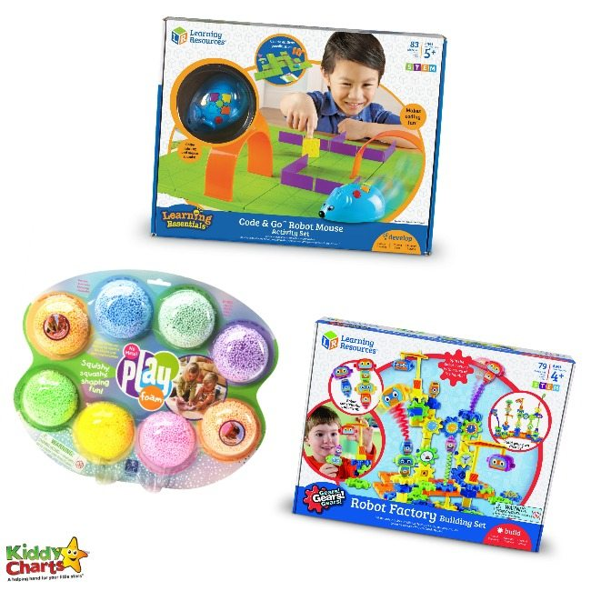Win a fabulous bundle of Learning Resources toys