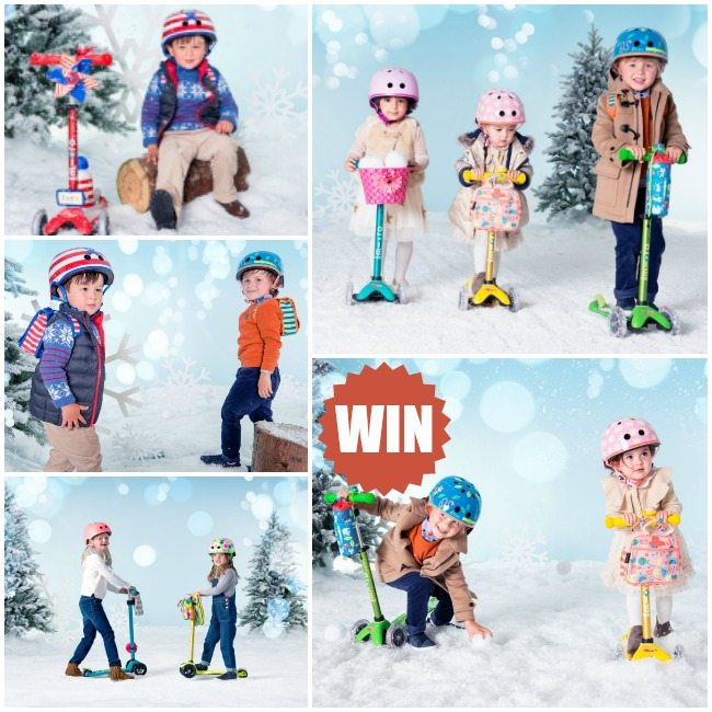 Win a set of Micro scooters for the whole family